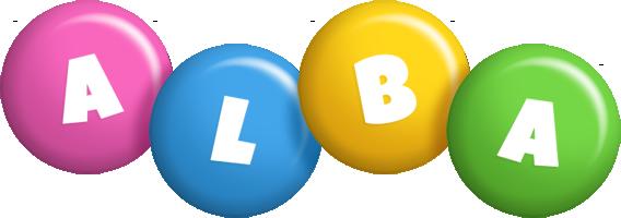 Alba candy logo
