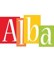 Alba colors logo