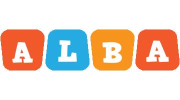 Alba comics logo