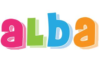 Alba friday logo