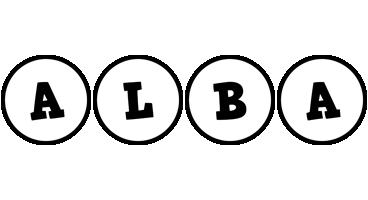Alba handy logo