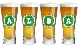 Alba lager logo