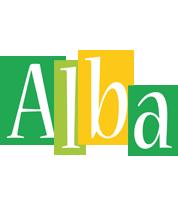 Alba lemonade logo