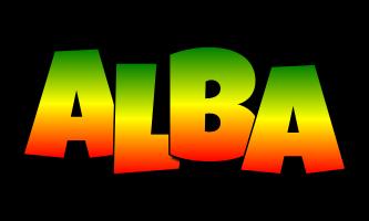 Alba mango logo
