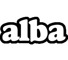 Alba panda logo