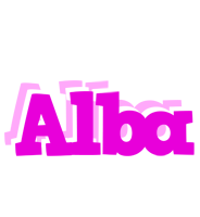 Alba rumba logo