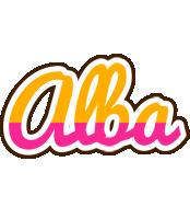 Alba smoothie logo