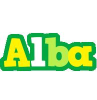 Alba soccer logo