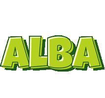 Alba summer logo