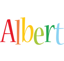 Albert birthday logo