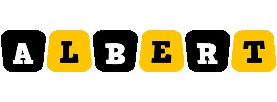 Albert boots logo