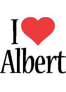 Albert i-love logo