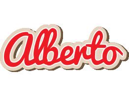 Alberto chocolate logo