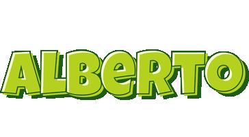 Alberto summer logo