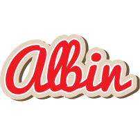Albin chocolate logo