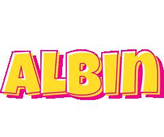 Albin kaboom logo