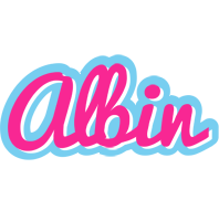 Albin popstar logo