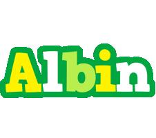 Albin soccer logo