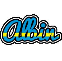 Albin sweden logo