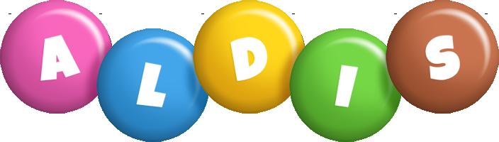 Aldis candy logo