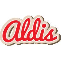 Aldis chocolate logo