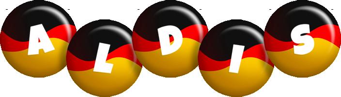 Aldis german logo