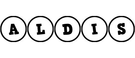 Aldis handy logo