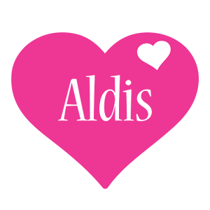 Aldis love-heart logo
