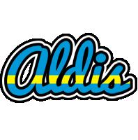 Aldis sweden logo