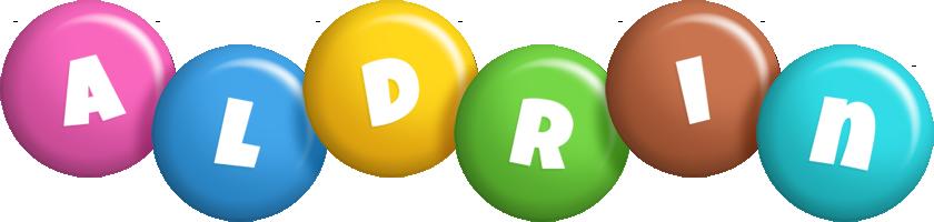 Aldrin candy logo
