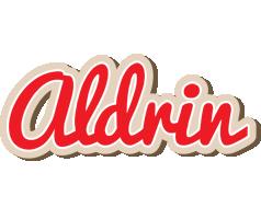 Aldrin chocolate logo