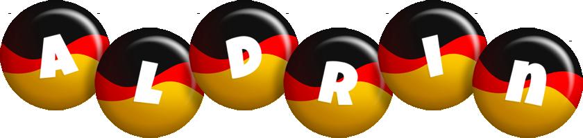 Aldrin german logo