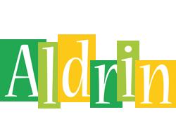Aldrin lemonade logo