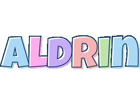 Aldrin pastel logo