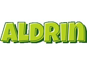 Aldrin summer logo