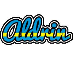 Aldrin sweden logo
