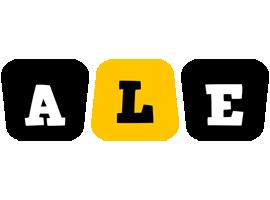Ale boots logo