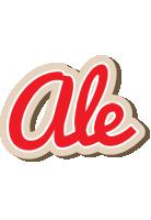 Ale chocolate logo