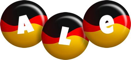 Ale german logo