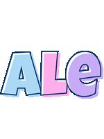 Ale pastel logo