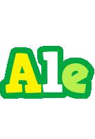 Ale soccer logo