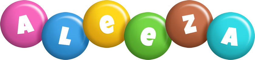 Aleeza candy logo