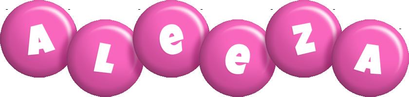 Aleeza candy-pink logo