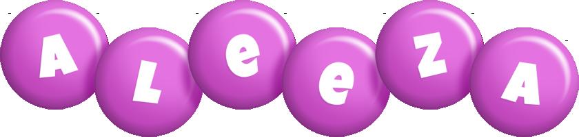 Aleeza candy-purple logo