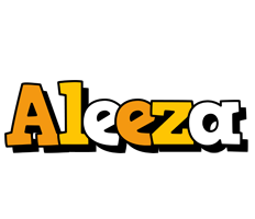 Aleeza cartoon logo