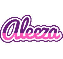 Aleeza cheerful logo