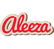 Aleeza chocolate logo