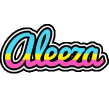 Aleeza circus logo