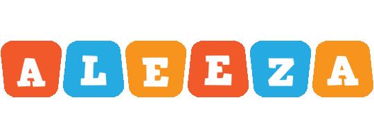 Aleeza comics logo