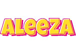 Aleeza kaboom logo